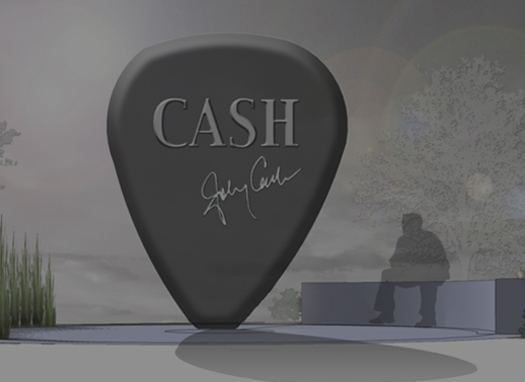 Johnny Cash Artwork - Cash's Pick