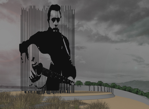 Johnny Cash Artwork - Prison Blues